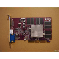 PALITDAITONA (n-VIDIA GeFORCE4 MX440 64MB DDR, TV-OUT S-video) AGP-8x. =Рабочая=