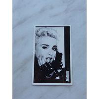 """Самодельная фотокарточка """"Madonna"""" (80-е годы 20 в.)"""