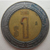 Мексика 1 песо 2010 г. (g)