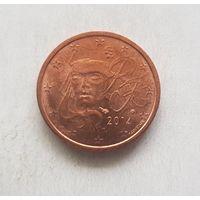 2 евроцента 2014 Франция