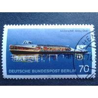 Берлин 1975 корабль Михель-1,8 евро гаш. концевая марка серии