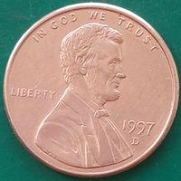 1 цент 1997 D США