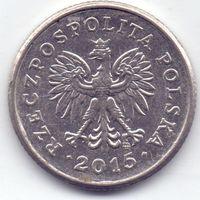 Польша, 20 грошей 2015 года.