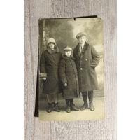 Фото 1928 года, Барановичи, размер 13.5*9 см.