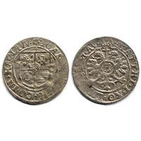 3 крейцера б.г. (1610-1611), Германия, Ханау-Лихтенберг, Иоанн Рейнхард I