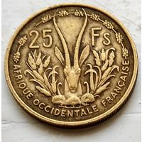 Французская Западная Африка 25 франков, 1956 3-1-26