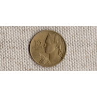 Югославия 10 динаров 1955(Uss)