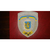 Львовская область МВД Украины (на летнюю форму)