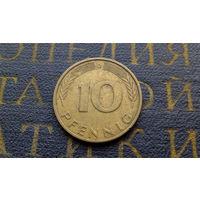10 пфеннигов 1981 (D) Германия ФРГ #01