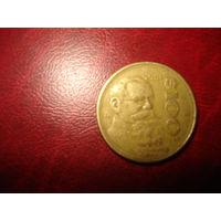 100 песо 1985 года Мексика