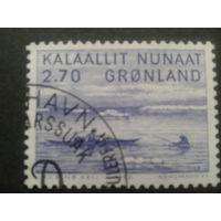 Дания Гренландия 1982  охота