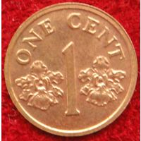 6866:  1 цент 2000 Сингапур