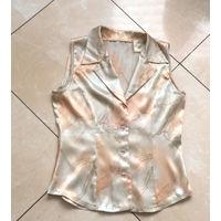 Атласная блузка, р. 42-44
