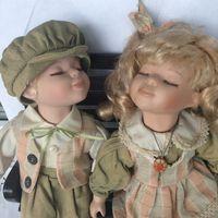 Фарфоровые коллекционные куклы, Австрия, снижена цена