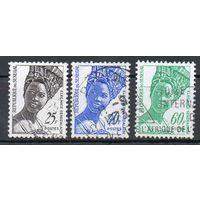 Стандартный выпуск Сенегал 1972 (2 марки),1976 (1 марка) год набор из 2-х серий