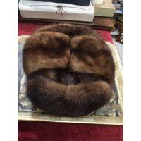 Шапка норковая мужская 57 размер