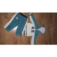 Шикарный фирменный костюм Войчик для мальчика рост 74-80 см.