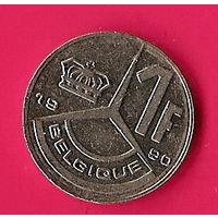 40-26 Бельгия, 1 франк 1990 г.