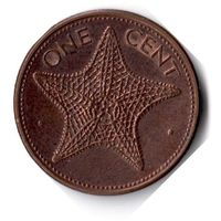 Багамские острова. 1 цент. 2004 г.