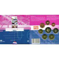 Нидерланды 2006 Официальный годовой набор Евро монет