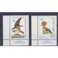 [17] Югославия 1985.Фауна.Птицы.