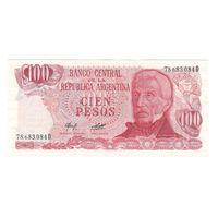 Аргентина 100 песо. Состояние UNC!