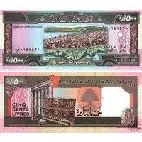Ливан  500 ливров  1988 год  UNC
