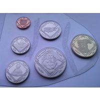 США Индейская Резервация СЕМИНОЛОВ годовой набор 2019 года 6 монет от 1 цента до 1 доллара