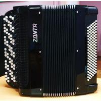 Продаётся концертный многотембровый цельнопланочный готово-выборный баян Zonta ZB10.