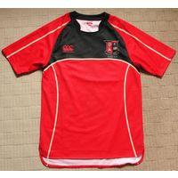 Брендовая высококачественная мужская футболка с коротким рукавом Canterbury  (TERRACE )оригинал.