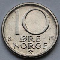 10 эре 1982 Норвегия