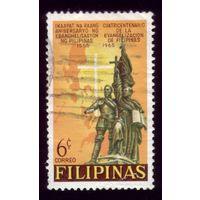 1 марка 1965 год Филиппины 784