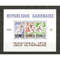 Габон 1976 Летние Олимпийские Игры