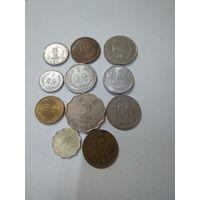 Монеты Азии. Сборный лот.