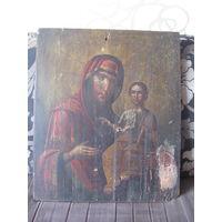 Икона.Образ Божией матери Одигитрия.Смоленская.