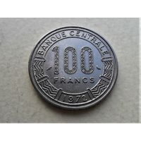 Камерун 100 франков 1972