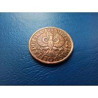 2 грошы 1938 прыгожы, застаўся штэмпельны бляск / 2 гроша 1938 остатки штемпельного блекска