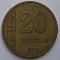 Таджикистан 20 дирам 2011