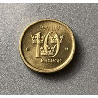 Швеция 10 крон 2004 г.