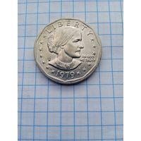США 1 доллар 1979г.