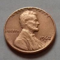 1 цент США 1962 D