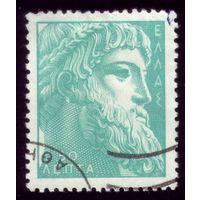 1 марка 1954 год Греция Зевс 606
