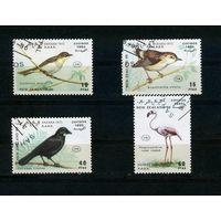 Сахара 1990г. птицы, 4м.