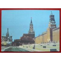Москва. Красная площадь. Чистая. 1980 года. 702.