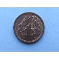 1 цент 1994 года. ЮАР
