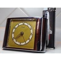 С 1 рубля! Часы будильник Kienzle. Старинный. Германия.