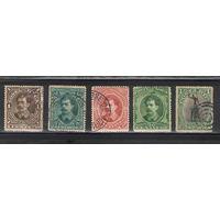 Коста-Рика Подборка старых марок