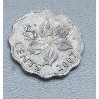 Свазиленд 5 центов, 2007 7-1-26