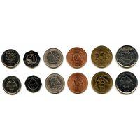 Ливан 25, 50, 100, 250 и 500 ливров 1996, 2002, 2006, 2012 г.