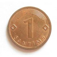 Латвия 1 сантим 2008